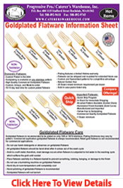 Gold Plating Flyer