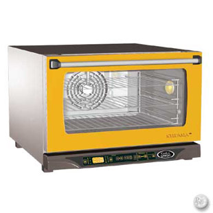 Cadco XAF-115 - Half Size Convection Oven w/Humidity | Caterers Warehouse