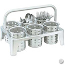 CYLINDER TRANSPORT RACK (STAINLESS)