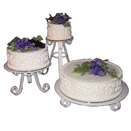3 PIECE ROUND ENCHANTMENT STAND SET