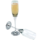 TOASTING FLUTES - FAUX CRYSTALS
