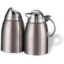CREAMER AND SUGAR SET, 18/8 STAINLESS STEEL
