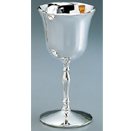 WATER GOBLET, NICKELPLATED