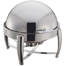 6 QT.ROUND  VIRTUOSO CHAFER, ALL STAINLESS
