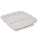 6 QT. SQ. FOOD PAN, DIVIDED, STAINLESS, FOR CHSS-46132, CHSS-46133, CHSS-46134 & CHSS-46135