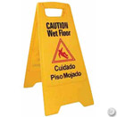 WET FLOOR SIGN, TENT STYLE