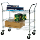 3 SHELF WIRE CART - 18