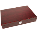 WOODEN GAUCHO STEAK KNIFE BOX ONLY - HOLDS 6 KNIVES FOR PRESENTATION