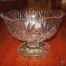 DUBLIN COLLECTION CUT CRYSTAL TRIFLE BOWL