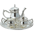 COFFEE SET (SILVERPLATE) - 4 PIECE