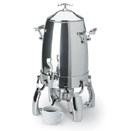 3 GAL. COFFEE URN, STAINLESS STEEL