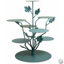 PARTY TREE CAKE / DISPLAY STAND, VERDI GRIS, 24