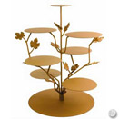 PARTY TREE CAKE / DISPLAY STAND, RUST, 24