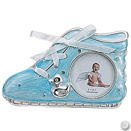 BLUE BABY SHOE FRAME, 2.5