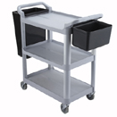 3 TIER KNOCK DOWN UTILITY CART