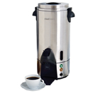 100 CUP COMMERCIAL COFFEE MAKER, STAINLESS STEEL