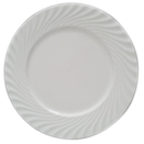SWIRL DESIGN WHITE DINNERWARE