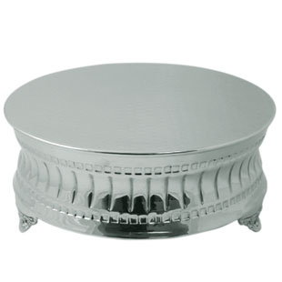 CONTEMPORARY NICKELPLATED CAKESTANDS