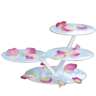 3 TIER LILY PAD CAKE / DISPLAY STAND