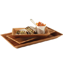 BAMBOO TRAYS, RECTANGULAR