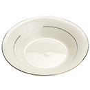 CHARLESTON IVORY GOLD CHINA - CHARLESTON IVORY GOLD RIM FRUIT CUP- 7 OZ., CASE/8 DOZ.