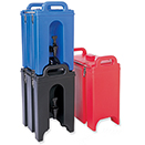 INSULATED BEVERAGE DISPENSERS, POLYETHYLENE
