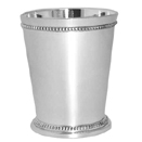 MINT JULEP CUP, NICKELPLATE