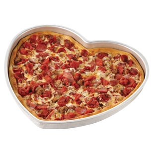 Heart Shaped Pizza Pan | Caterer's Warehouse