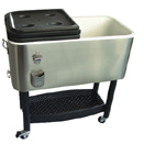 STAINLESS STEEL COOLER, 17 GALLON COLLECTION