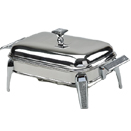 1.5 QUART STAINLESS STEEL CHAFING DISH WITH GLITTER ACCENTS
