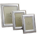 SILVERPLATED CONVEX FRAMES