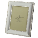 SILVERPLATED FRAMES WITH CRYSTAL