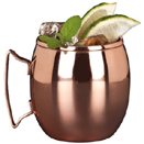 14 OZ MULE MUG, COPPER FINISH, CASE OF 1 DOZ