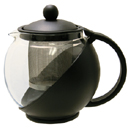TEAPOT WITH INFUSER, GLASS