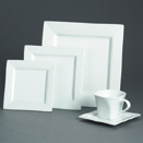SQUARE PORCELAIN DINNERWARE