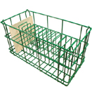 14 COMPARTMENT PLATE RACK - FITS SQUARE SALAD PLATE UP TO 9