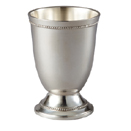SILVERPLATED GOBLET, 3 3/4