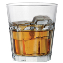 6.75 OZ ROCKS GLASS, CASE OF 4 DOZ