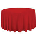 100% POLYESTER TABLECLOTHS, FABRIC WIDTH 132