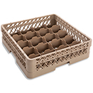 20 COMPARTMENT RACK WITH 1 OPEN EXTENDER, BEIGE