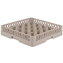 25 SQUARE COMPARTMENT RACK, BEIGE