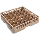 36 SQUARE COMPARTMENT RACK, BEIGE
