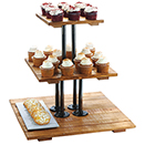 MADERA 3 TIER RISER DISPLAY, 20 3/4