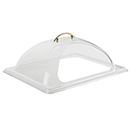 DOME COVER, HALF SIZE, CUT OUT OPENING, POLYCARBONATE