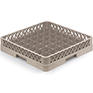 49 SQUARE COMPARTMENT RACK, BEIGE