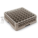 49 SQUARE COMPARTMENT RACK WITH 1 EXTENDER, BEIGE