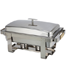 8 QT. OBLONG CHAFER