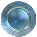 SEA BLUE CHARGER PLATE, 13