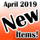 New Items Release April 2019
