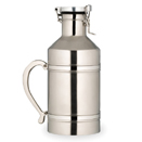 BEER GROWLER, STAINLESS STEEL